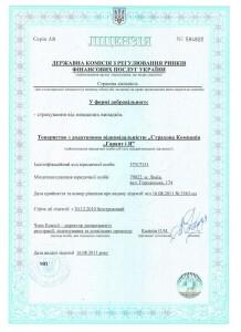 Ліцензія НВ